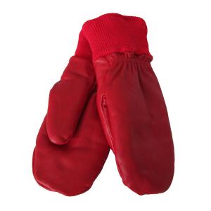 Nahkarukkaset nuorille punainen